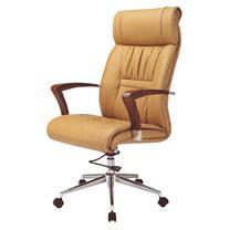 顺华 大班椅半牛皮皮椅 SH-6021A-1 W650*D650*H1020-1120mm (黑色)