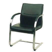 顺华 会议椅仿皮椅 SH-646 W600*D700*H900mm (黑色)