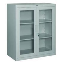 集大 JIDA 玻璃开门柜 CAB-BK-10 H1090*W900*D400mm (灰白色)