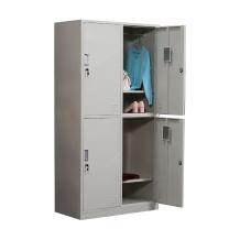 华宇 四门更衣柜 1800*900*420mm (灰白色) 江浙沪含运,其他地区运费另询。