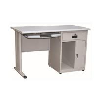 恩隆 ENLONG 钢制电脑台 W1200*D600*H750 (灰白色) 上海市外运费另询