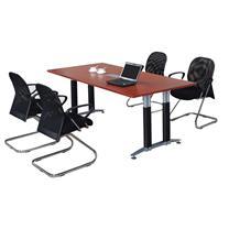 顺华 矩形板式会议桌 SH-2410H W2400*D1000*H750mm (颜色可定制)