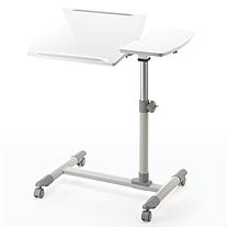 山业 多功能升降电脑桌 100-DESK040W W705*D400*H585-850 (白色) 客户自己组装