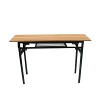 军成富康 折叠桌 1800x600mm 双层