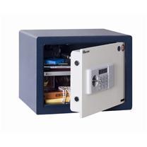 永发 YF 3C认证 电子式防盗保险柜 D-35BL3C 350*450*350mm (白门箱体蓝) 上海地区含运,外省市运费另询.