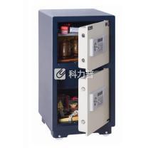 永发 YF 3C认证电子式防盗保险柜 D-91BL3C 980*450*450mm (白色箱体蓝) 上海地区含运,外省市运费另询.