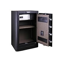 得力 deli 指纹式保险箱 4054 (黑色)