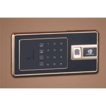 中亿 Z系列指纹锁保险箱 FDX-A/D-45FBZII H480*W400*D350 (咖啡金)