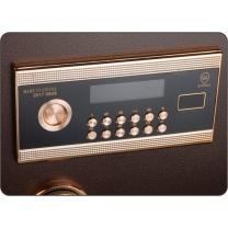 中亿 R角系列电子密码锁保管箱 BGX-5/D1-30R H300*W375*D300 (古铜色)