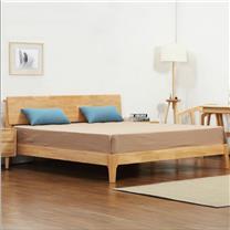 国产 北欧日式松木床 1500*2000mm