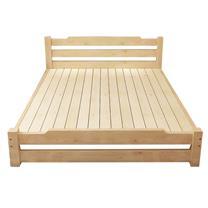 经济型实木床1.2米 1200*2000mm 定制产品
