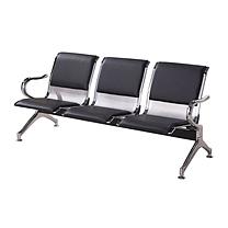 恩隆 ENLONG 加皮三人位机场椅 W1750*D650*780 上海市外运费另询