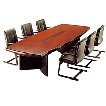 国产定制 船型会议桌 (6000x2000x760mm,不含安装,最大可定制14m)