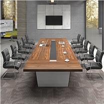 国产定制 高档商务会议桌 (8000x2000x760mm)