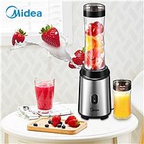美的(Midea)料理机 榨汁机随行杯便携式榨汁 双杯配置食品级材质搅拌机WBL2501A