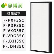 思博润 思博润(SBREL)韩国进口滤材 配松下空气净化器过滤网滤芯 F-ZXFP35C集尘网 适用松下F-PXF35C PDF35C VXG35C F-ZXFP35C滤网