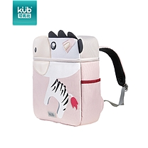 可优比 KUB 可优比(KUB) 幼儿园书包1-3-6岁双肩包儿童宝宝男女孩可爱背包包1-3年级粉斑马 粉斑马