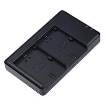沣标 FB 沣标(FB) LP-E6 双槽座充For佳能单反相机5D2/3/4/sr 80D 6D2 7D2 70D 60D电池充电器 通用原装电池E6N LP-E6双槽充电器(USB接口)