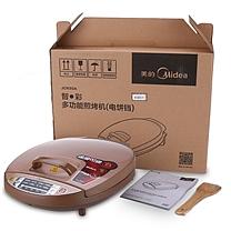 美的(Midea)电饼铛家用早餐机烙饼机速脆煎烤机双面悬浮加热多用途锅JCN30A