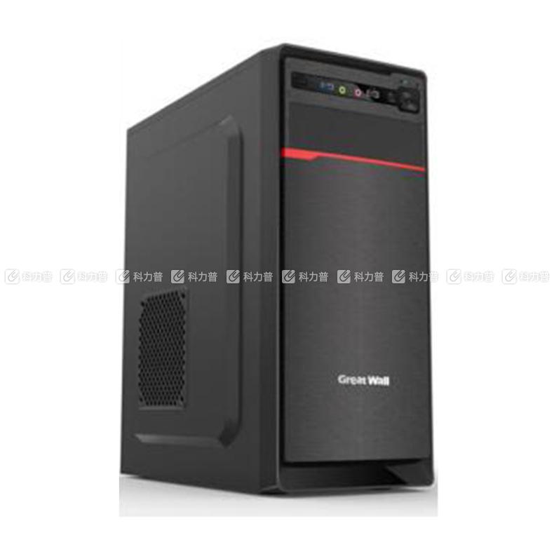 长城 GREAT WALL 台式电脑套机 J-25 23.8英寸 I5-7400 8G 1T+128G 无系统 三年上门