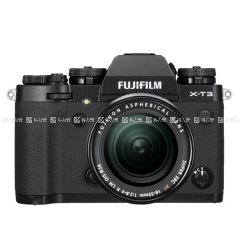 富士 FUJIFILM 单反套机 X-T3 2610 万像素 (黑色)