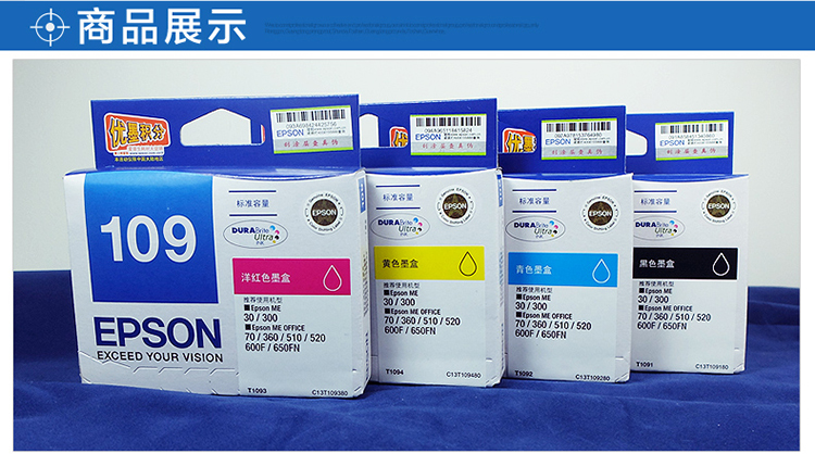 爱普生 EPSON 墨盒 T1091 (黑色)