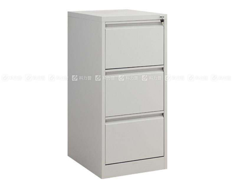 集大 JD 欧式三斗卡片柜 CD-3DK-10 (灰白色)
