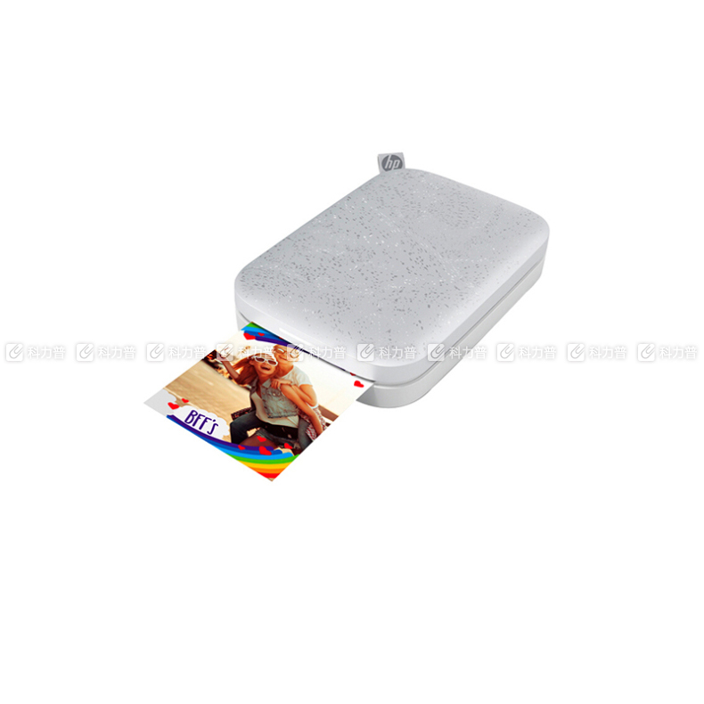 惠普 HP 小印口袋照片打印机 Sprocket 200 (白色) 1AS85A