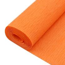 国产 皱纹纸 400cm*50cm 80-15 (桔黄)