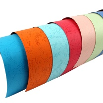 国产 皮纹纸 A4 230g (深蓝色) 100张/包