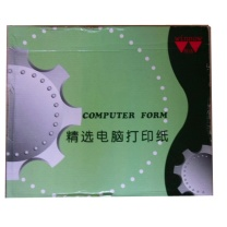 精选 电脑打印纸 381-1 (白色) 一层 白色