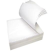 科力普 COLIPU 电脑打印纸 381-2 132列 无等分 2联 无压线 (白色) 1000页/箱 (10箱起订)