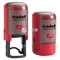 卓达 trodat 办公定制印章 46025 25mm(圆)  (下单前请与客服沟通您的定制信息)