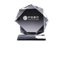 国产 定制水晶圆牌奖杯 规格:上部160*25mm,下部150*45*25mm(DZ) YF-013*110  国网链接