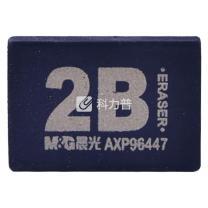 晨光 M&G 2B橡皮50A AXP96447 17*26*9mm (黑色) 72块/盒