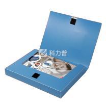 易达 Esselte 舒适型档案盒 A4 1.5寸 背宽35mm 847205 (蓝色) 36个/箱