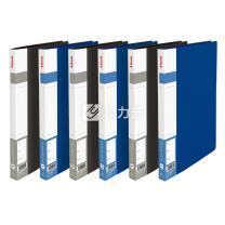 易达 Esselte 通用型单强力文件夹 86017 A4 背宽20mm (黑色) 20个/箱