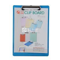 国产 富强/永益 金属板夹 FQ-8025B/YY-8025B A4 (蓝色、绿色) (颜色随机)