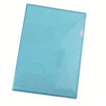 易达 Esselte 透明二页文件套 700245 A4 (蓝色) 12个/包