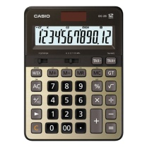 卡西欧 CASIO 12位数字显示财务快打计算器 DS-2B-GD