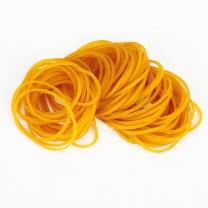 得力 deli 橡皮圈 3218 30g (黄色) 100根/包