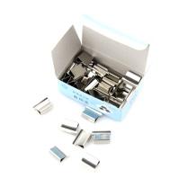 星海 装订备用夹大号 BY-D01 (银色) 每盒30枚
