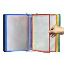 国产 10页悬挂式文件夹 A4 (彩色)