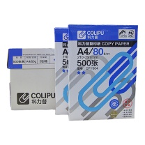 科力普 COLIPU 复印纸 CFY004 2星 A4 80g  500张/包 5包/箱 (大包装)(新老包装更换中)