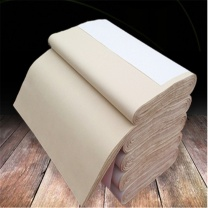 万事达 半生熟元书纸宣纸 97*180cm  100张/卷 纯竹浆六尺整张仿古加厚毛边纸书法练习