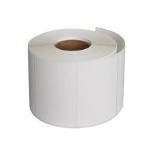 艾利 45*25MM 不干胶铜版纸 横版单排 白色 1200张/卷  (DC)(苏州链接)