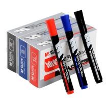 晨光 M&G 油性记号笔 APMY2204 2.0mm (黑色) 10支/盒