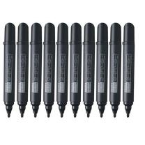 斑马 ZEBRA 大号白板笔 YYR1 2.6mm (黑色) 10支/盒