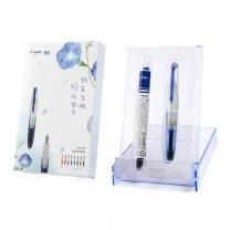 百乐 PILOT 迷你钢笔 SPN20FL-IRF10 F尖 (蓝色)