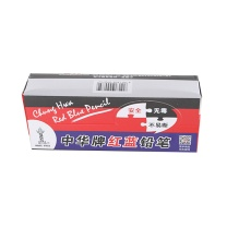 中华 Chung Hwa 铅笔 120 0.4mm (红蓝) 50支/盒 (大包装)